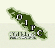 Blair Dooley founded Old Island Pest Control logo