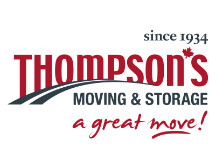 Thompson's Moving logo