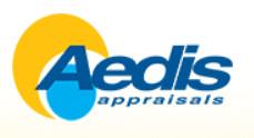 Aedis Appraisals logo