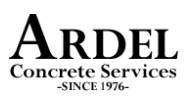 Ardel Concrete Services logo
