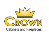 Crown Cabinets & Fireplaces logo