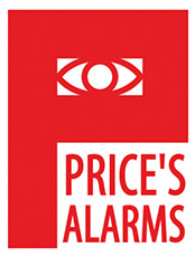 Price's Alarms logo