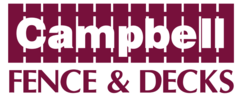 Campbell Fence & Decks logo