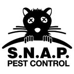 Snap pest control logo