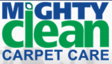 Mighty Clean carpet cleaners logo