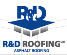 R&D Roofing logo