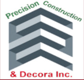 Precision Construction and Decora Inc. logo