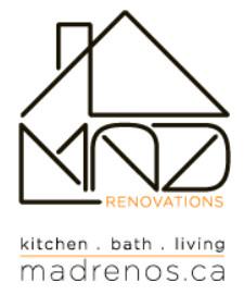 M.A.D. RENOVATIONS logo