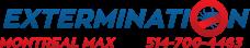 Extermination Montreal Max logo