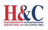 H & C Heating & Cooling logo