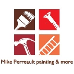 Mike Perreault painting & more logo