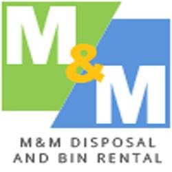 M&M Disposal & Bin Rental logo