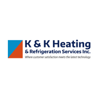 K&K Heating and Refrigeration Service logo