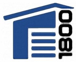 1800 Garage Doors logo