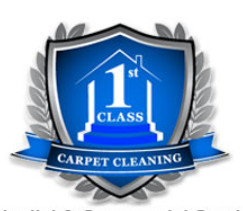 First Class Carpet Cleaning logo