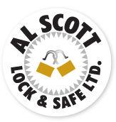 Al Scott Lock & Safe logo